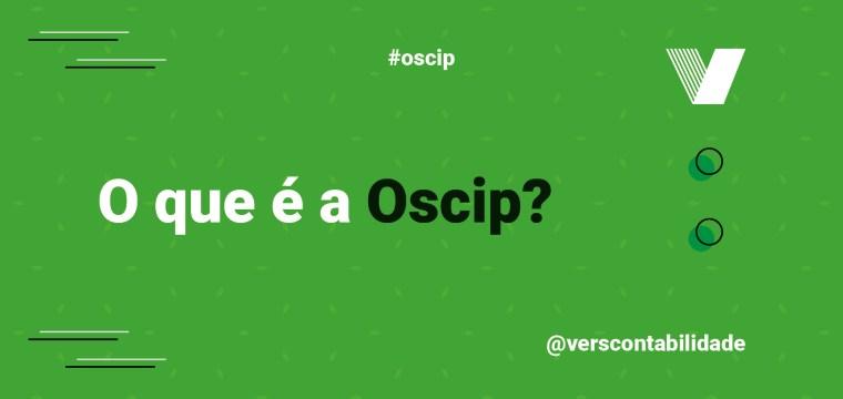 O que é a Oscip?