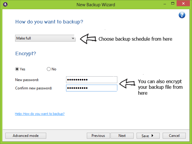 Windows Backup Software