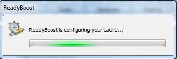 Readyboost Windows 8 configuration