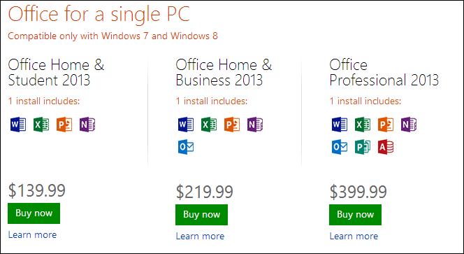 Google Docs VS. Microsoft Office Word 2013