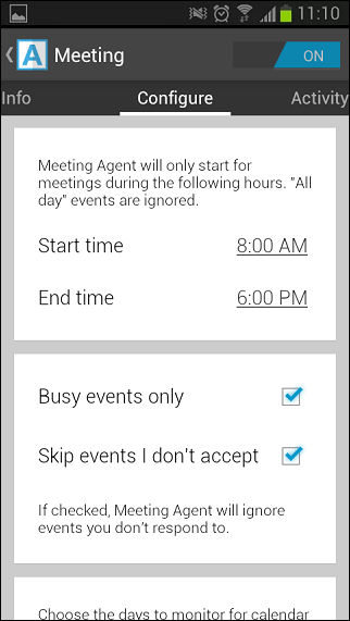 Agent-for-android-meeting-section