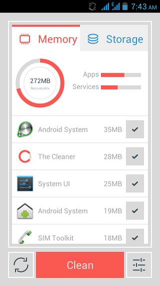 The Cleaner – Clear Unwanted Files and Make Your Android Faster