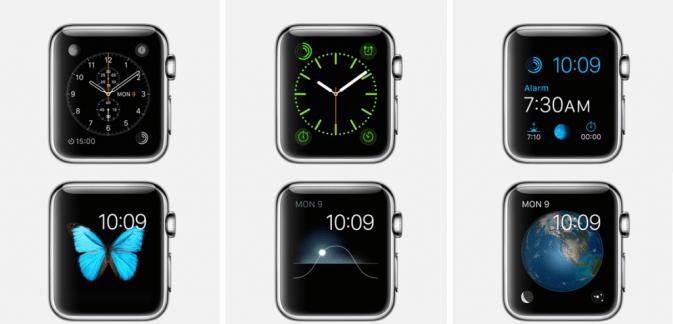 Various-Apple-Watch-Face-Customization