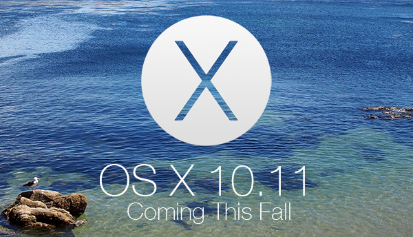 All New OS X 10.11 Operating System for Mac