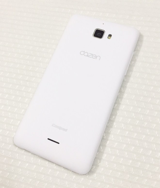 CoolPad Dazen 1 Back side