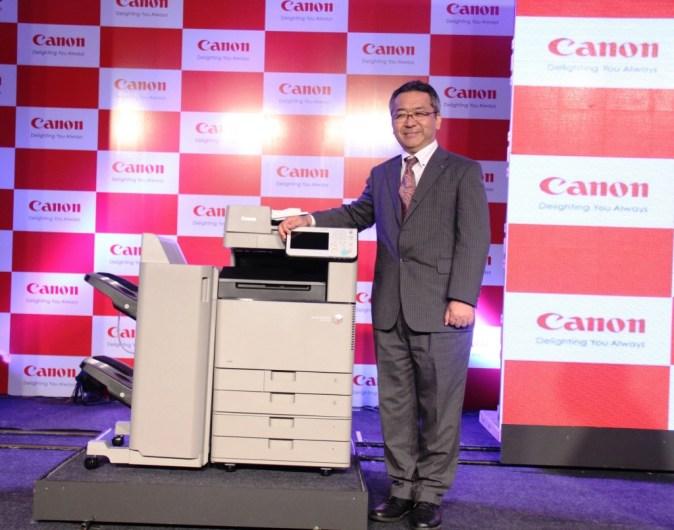 Mr. Kazutada Kobayashi, President & CEO, Canon India_
