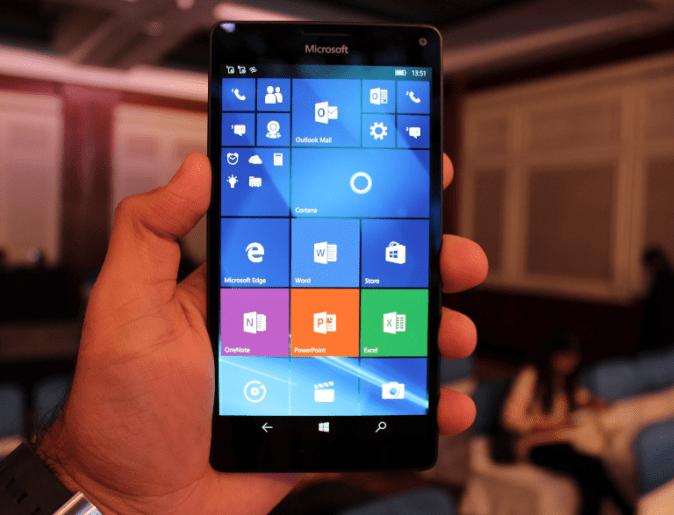 Lumia 950 XL Front