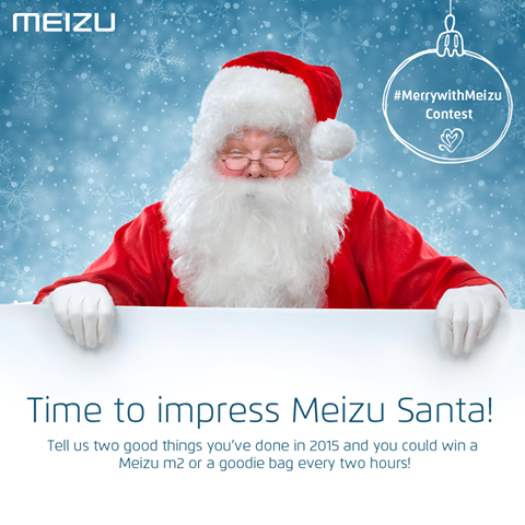 Impress Meizu Santa by telling him two good deeds