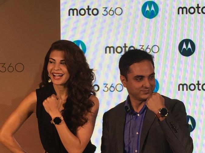 Jacqueline Fernandez at Moto 360 2nd Gen Launch