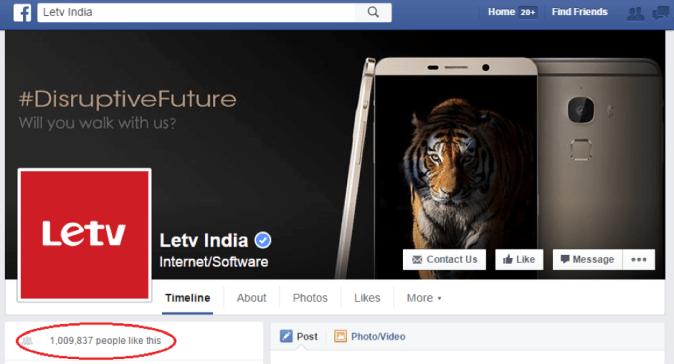letv fb page