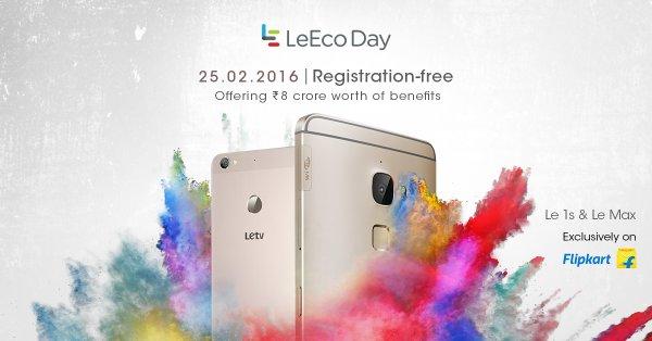 LeEco Day - Open Sale & Great Shopping Bonanza on Feb 25