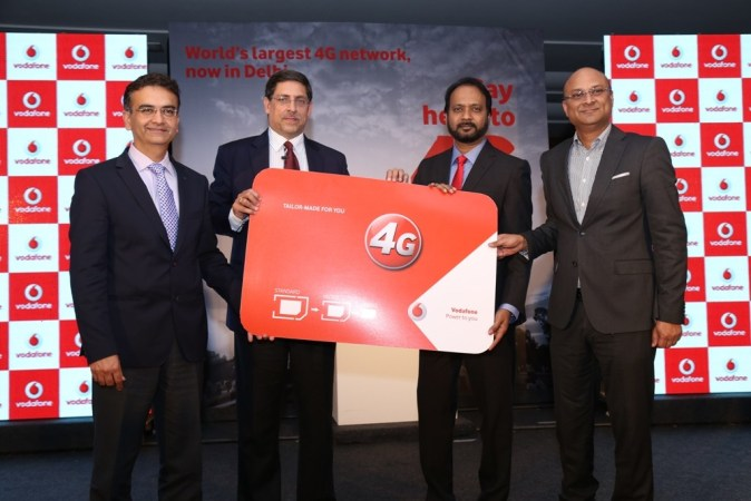 Vodafone launches 4G in Delhi & NCR