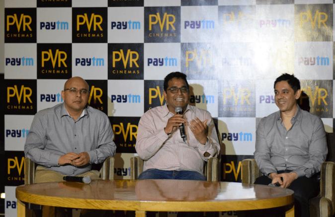 PVR and Paytm Form Strategic On-Line Movie Ticketing Relationship