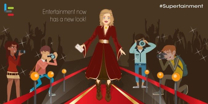Entertainment has a new look