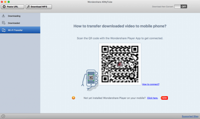 transfer downloaded video to mobile