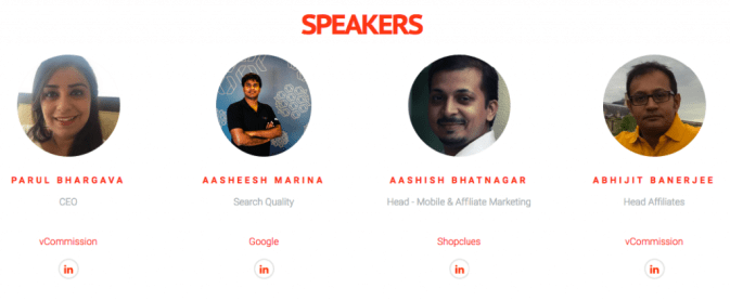 India Affiliate Summit 2016 Speakers