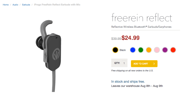 ZAGG FREEREIN REFLECT EARBUDS