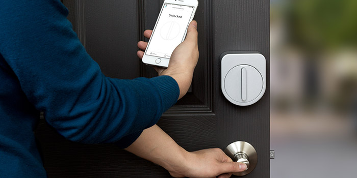 Sesame replaces your door key with your phone and equips your door with a smart lock