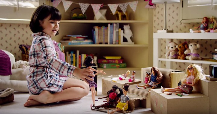 Barbie You Can Be Anything ad campaign