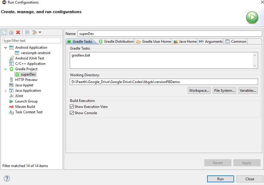 GradleTaskConfiguration