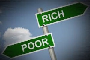 Who is poor, Who is rich?