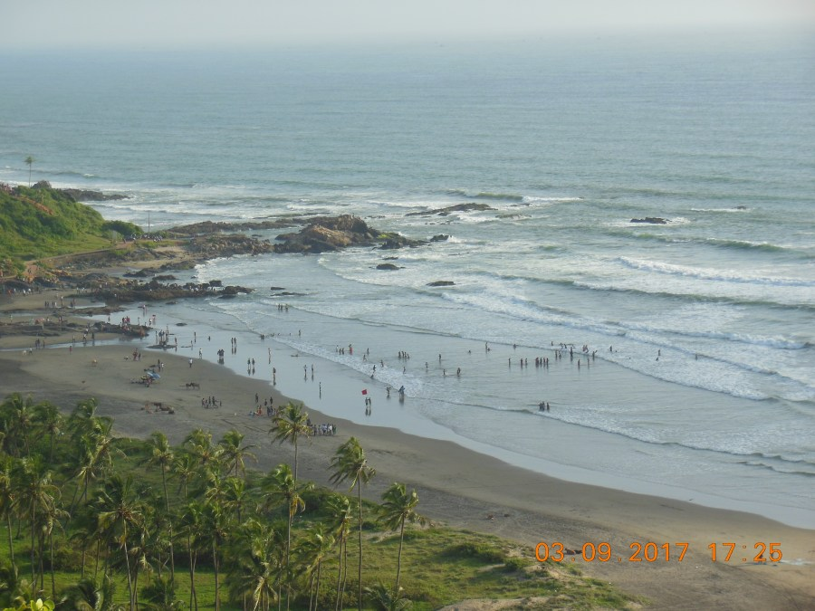 Beach View From Chapora Fort