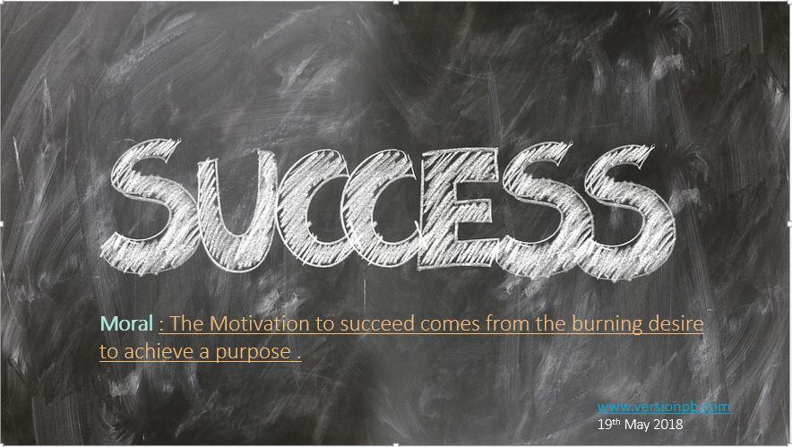 Short Story on Secret Of Success