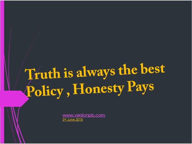 One Liner Quote on Truth