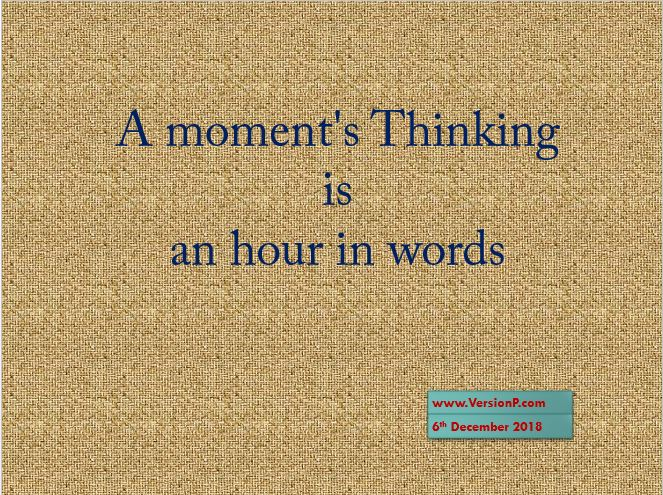 One Liner Quote on Thinking