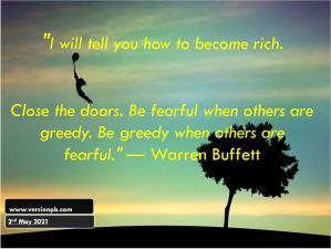 How to be Rich – Warren Buffett
