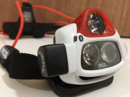 lampe frontale Petzl NAO ® + (c)
