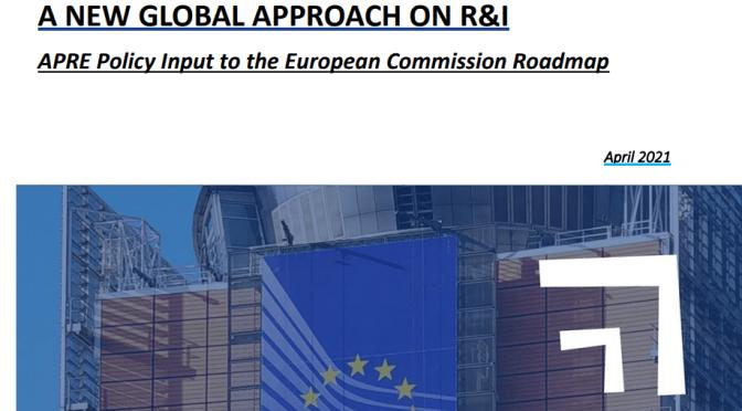 Nuova strategia di cooperazione internazionale in R&I: il Policy Input di APRE