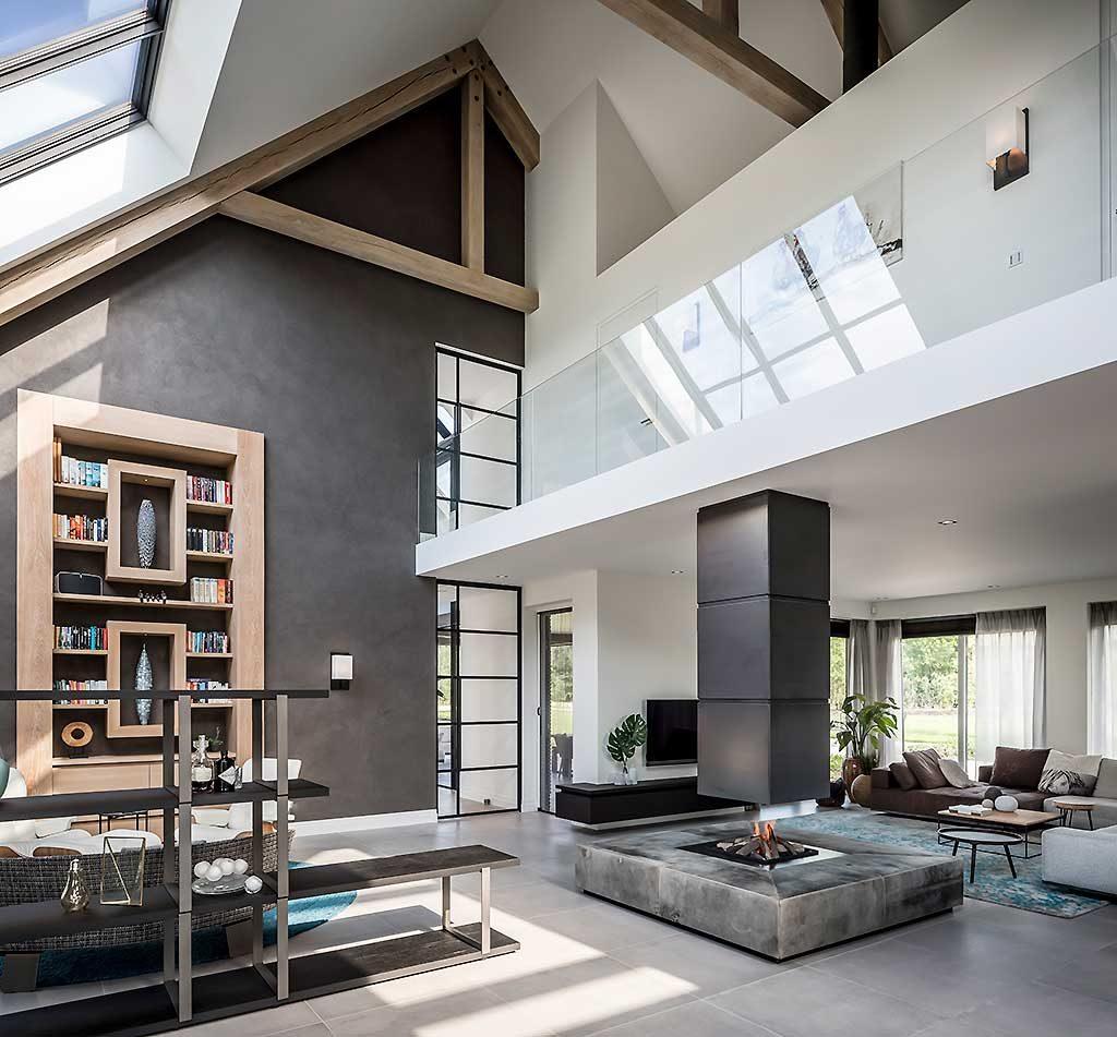 Strakke Boerderij Woning  VERSTEEGH DESIGN architecture