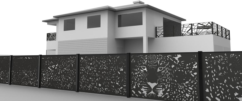 design garden fence design gartenzaun ammersee bavaria - boisholz, Garten und bauen