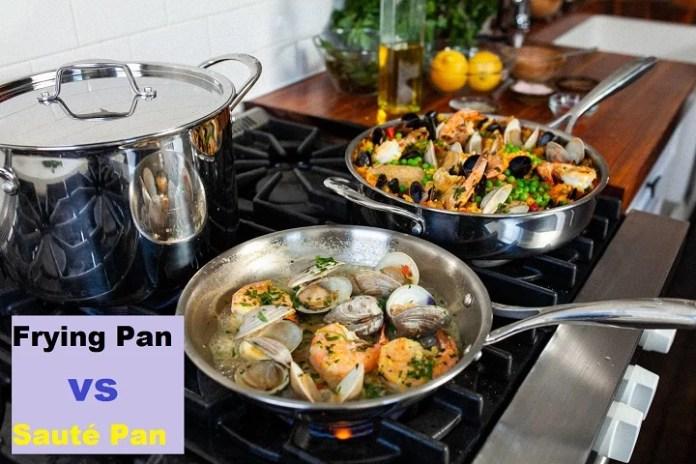 Frying Pan vs Sauté Pan