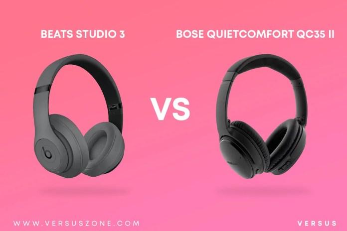BEATS Studio 3 VS BOSE QuietComfort QC35 II