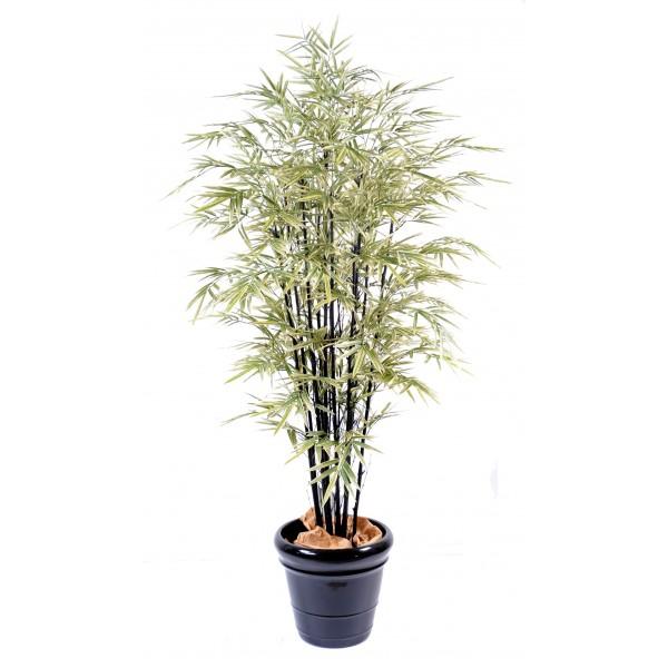 bambou artificiel vert espace