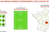 Chaque seconde 26 M2 de terres agricoles disparaissent en France