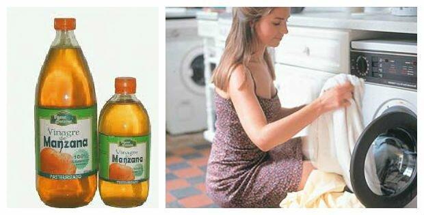 lavar la ropa con vinagre