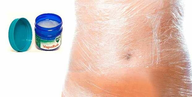 Vicks VapoRub para reducir el abdomen rapido
