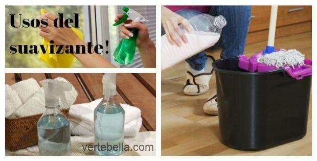 Usos del suavizante para ropa