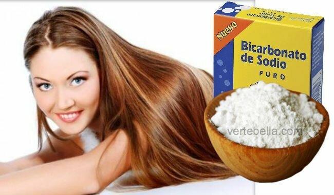 Como alisar el cabello con bicarbonato de sodio