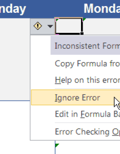 Excel ignore error checking also vertex support and faq rh
