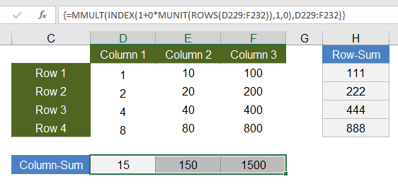 Excel Array Formula Examples – Simple to Advanced