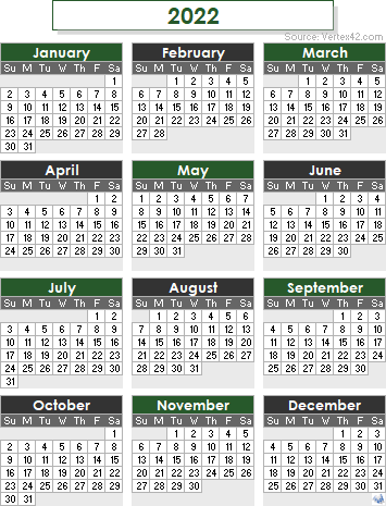 If you have any questions regarding these events, please contact us. 2022 Calendar Templates and Images