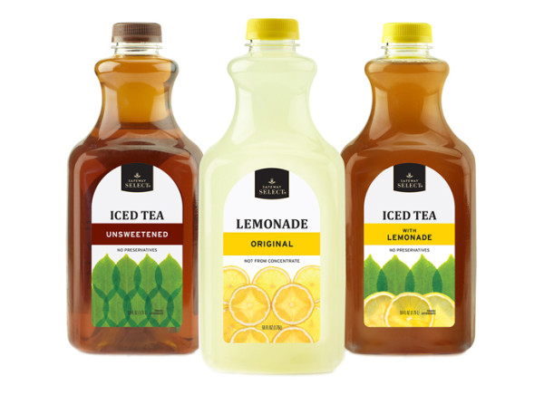 120 - SELECT Iced Tea & Lemonades