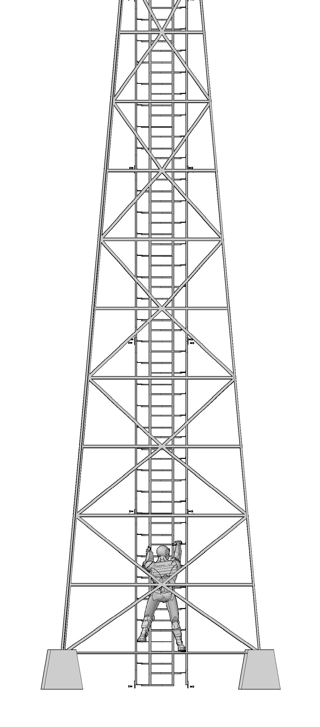 Cell Phone Tower Clip Art Sketch Coloring Page