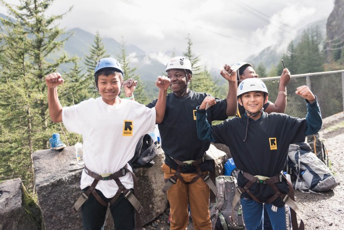 irc youth climbers feeling empowered