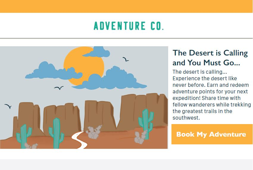 Effective-email-BookMyAdventure