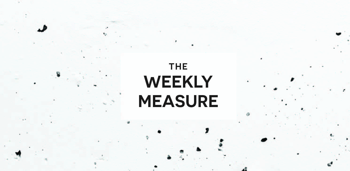 The Weekly Measure: Writing Tips, Going Viral & Being An